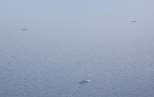 The crash took place 320 kilometres off the coast, according to the US military.