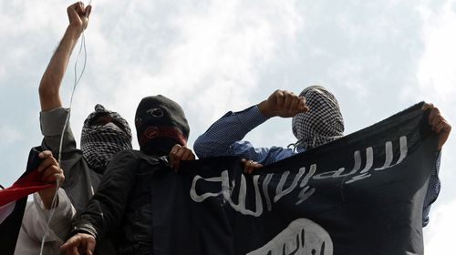 ISIL fighters.