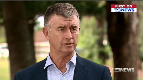 Liberal MP Tim Mander says Queenslanders shouldn't be footing the bill for criminals to eat junk food. Picture: 9News