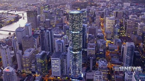 The new building height limit proposed by the council is 300 metres. (9NEWS)