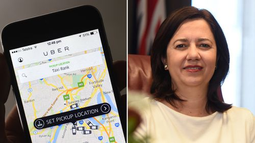 Uber to be legal in Queensland from September: Premier