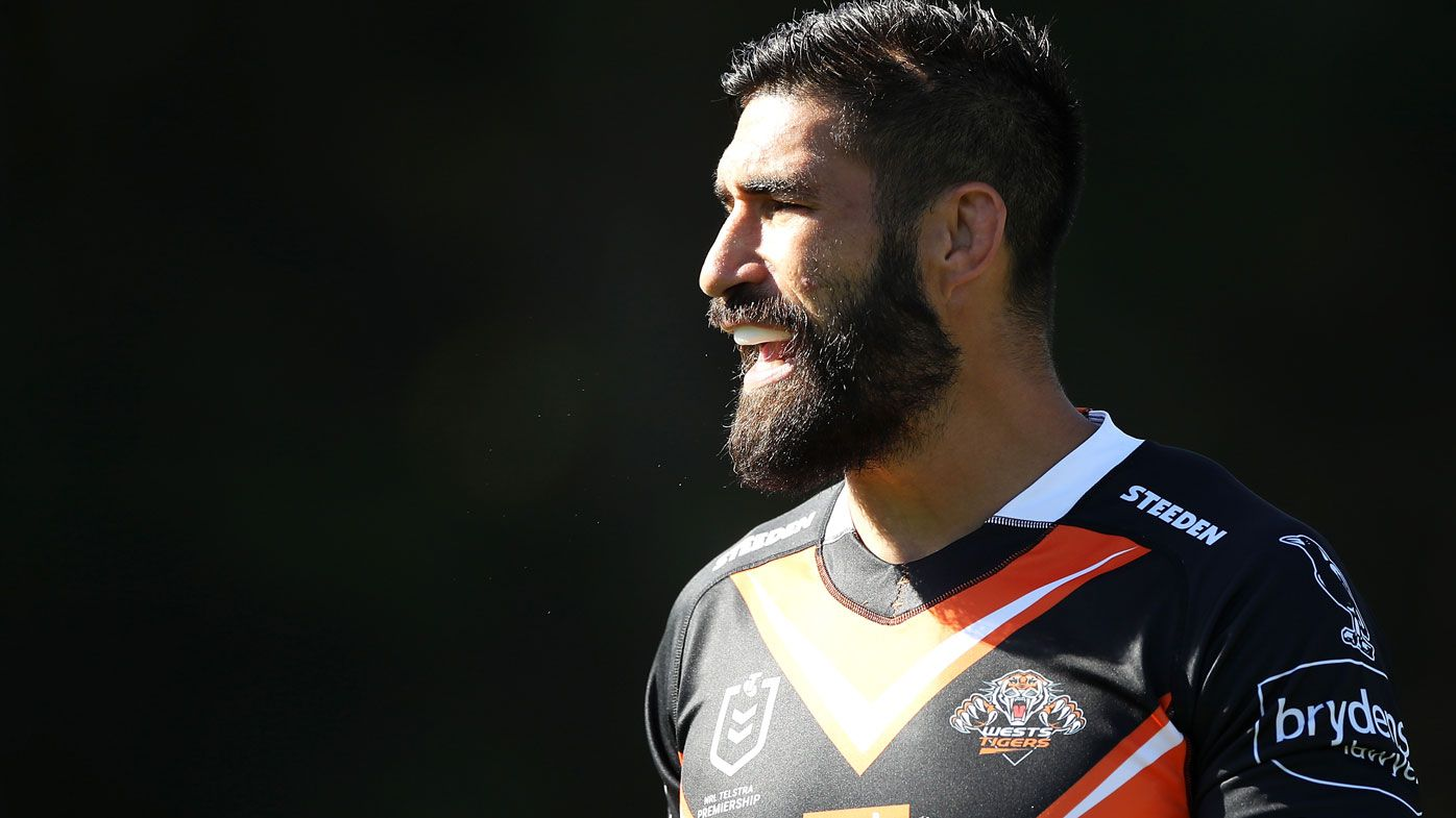James Tamou is excited to break the Tigers' final drought. (Getty)