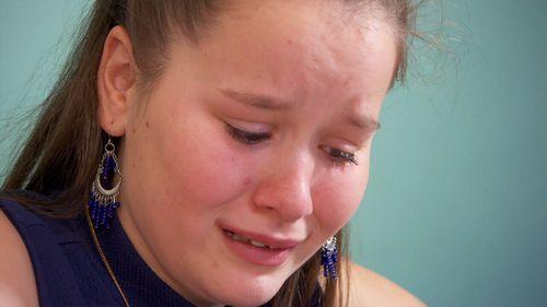 Chloe Davenport, 14, has complex regional pain syndrome.