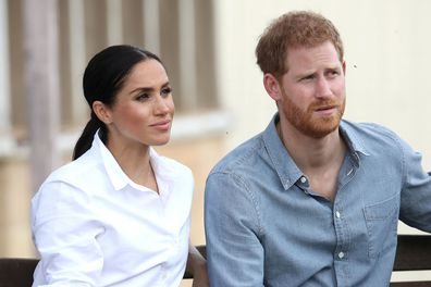 Prince Harry, Duke of Sussex and Meghan, Duchess of Sussex XXXXX on October 17, 2018 in Dubbo, Australia. The Duke and Duchess of Sussex are on their official 16-day Autumn tour visiting cities in Australia, Fiji, Tonga and New Zealand.