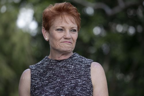 One Nation Senator Pauline Hanson has withdrawn her support for the government's corporate tax cut plan. Picture: AAP