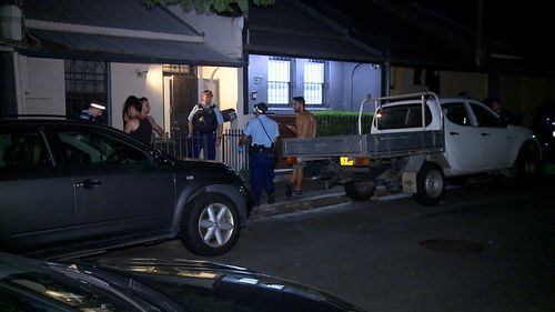 A man has been stabbed in Pyrmont.