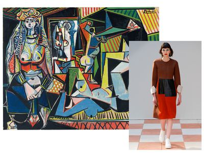 <p>Art history dressing has neverfelt so on point. From the femme fatales of the Pre-Raphaelites to the muses of Cubism, we present our sartorial homage to the old masters and their women.<br><br>Cubism</p>