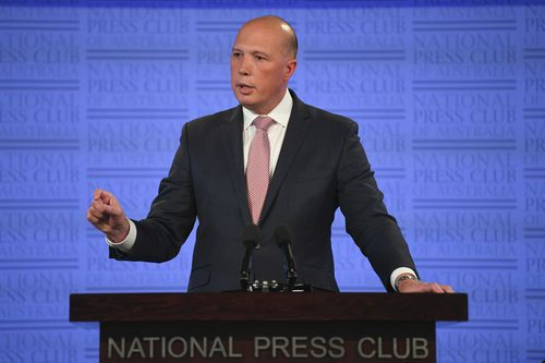 Federal Home Affairs Minister Peter Dutton has said international and domestic organised crime is costing Australians $1900 every year.
