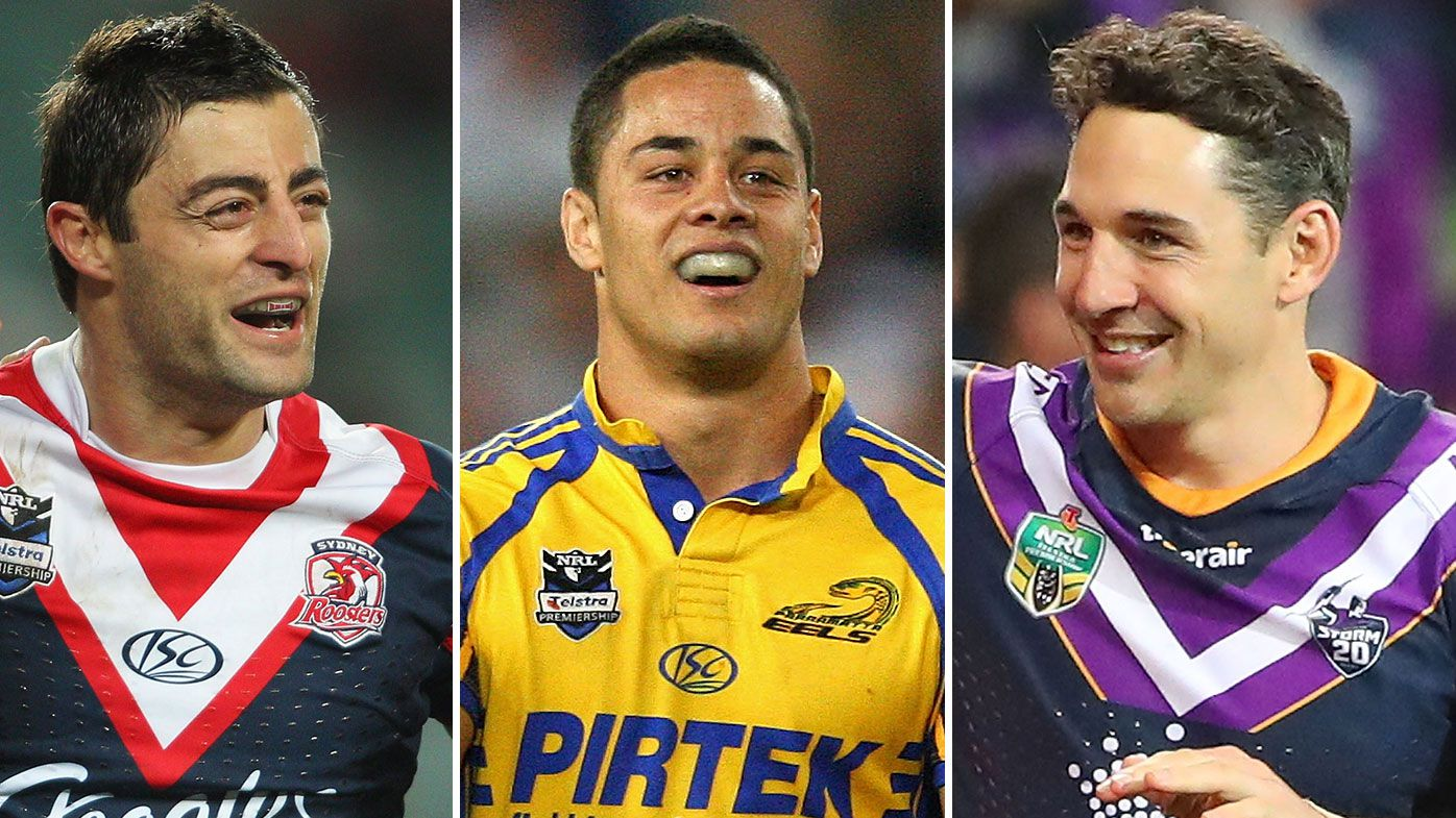 Anthony Minichiello, Jarryd Hayne, Billy Slater
