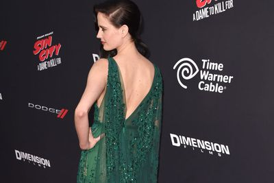 <i>Sin City: A Dame to Kill For</i> star Eva Green stuns in green... of course!