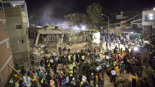 Mexico was hit by its second deadly earthquake in two weeks.