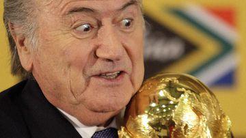 Sepp Blatter. (Getty Images)