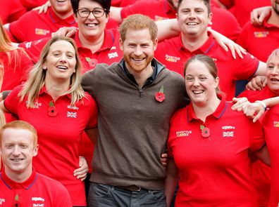 Prince Harry at the launch of Team UK for the Invictus Games The Hague 2020.