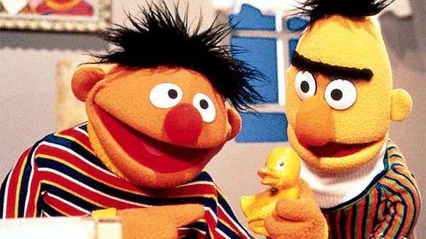 Bert from Sesame Street admits he's gay