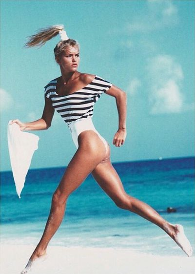 Yolanda Hadid for Grazia Magazine,1980s