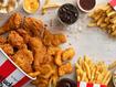 KFC Giant Feast meal