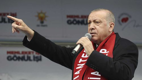 Turkish President Recep Tayyip Erdogan has demanded the alleged Christchurch terrorist be executed.