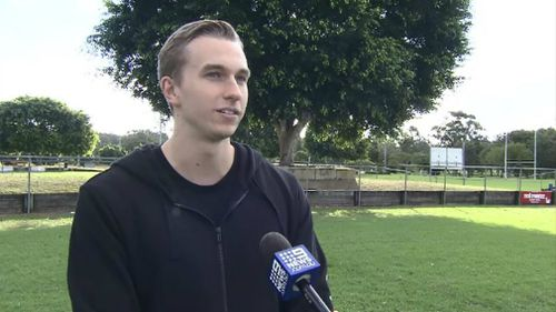 Jarrod MacDonald had done a CPR course just three days before. Picture: 9NEWS