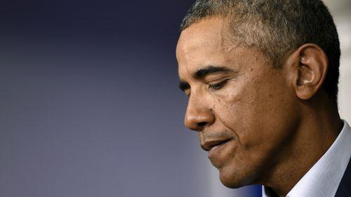 US president Barack Obama has called for calm in Ferguson. (AAP)