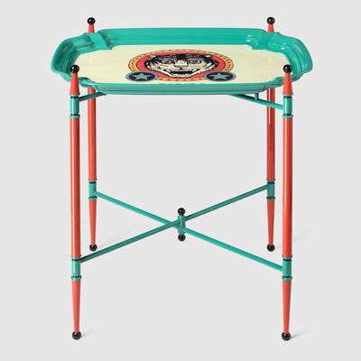 Sprovveduta Età print metal folding table, $5,145