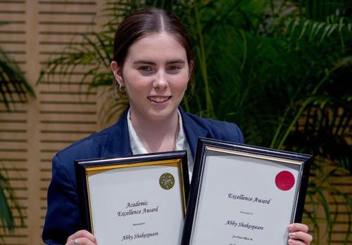 Uni fee hikes aren't deterring Year 12 student Abby Shakespeare to study an arts degree.