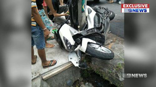 190603 Bali scooter crash Canggu Brisbane mum daughter survive crash News World
