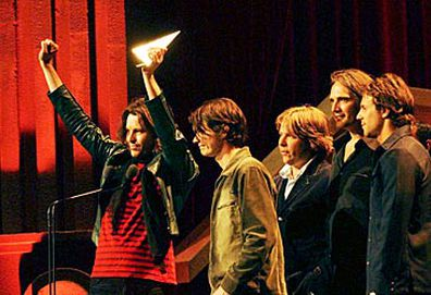 Powderfinger at ARIAs (AAP)