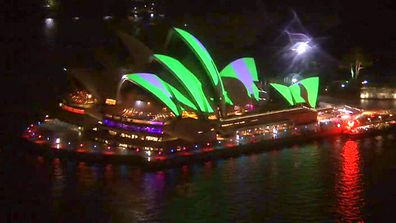 IN PICTURES: Vivid Festival returns to light up Sydney (Gallery)