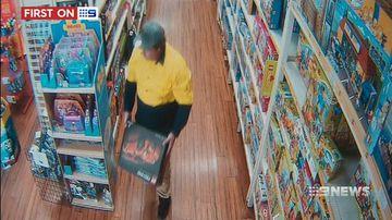 VIDEO: Lego bandit targets Melbourne toy stores