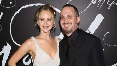 Jennifer Lawrence and Darren Aronofsky