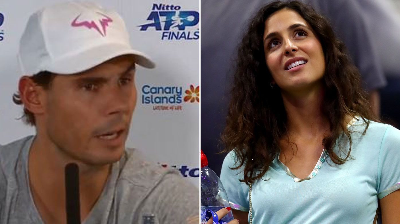 Rafael Nadal Bulls Wife Question Atp Finals Tennis Legend Slams Reporter