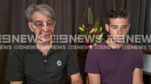 The American tourists spoke to 9NEWS today about the ordeal. (9NEWS)