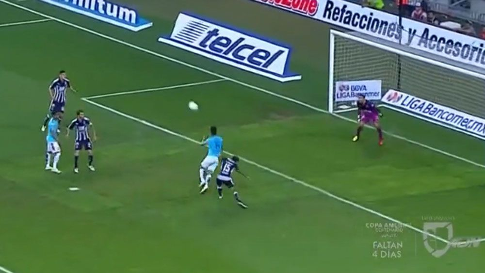 Football: Mexican commentator unleashes longest 'goooooal'