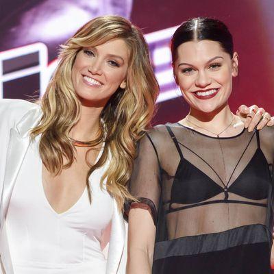 Winners: Delta Goodrem and Jessie J, <em>The Voice</em>
