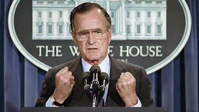 George HW Bush.