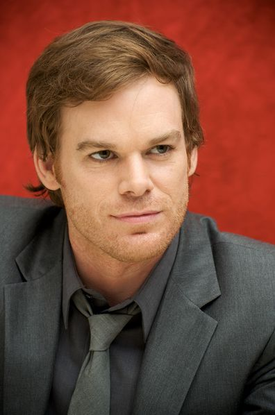 "Michael C. Hall at the ""Dexter"" press conference at the Four Seasons Hotel on September 25, 2009 in Beverly Hills, California."