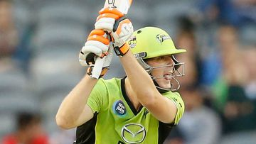 Daniel Hughes batting for the Sydney Thunder. (Getty)