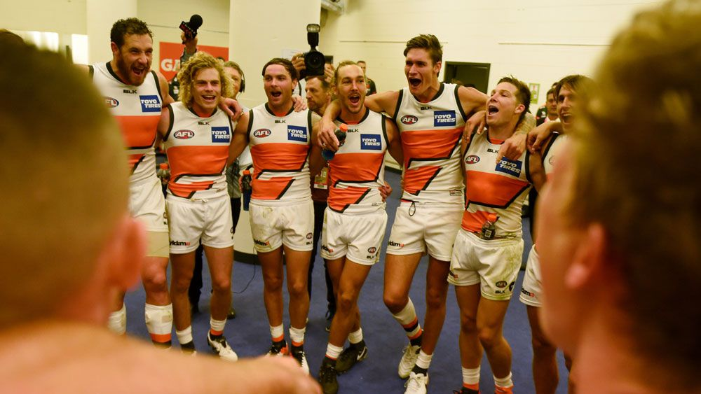 The Giants' inaugural coach has told them to sieze the chance. (AAP)