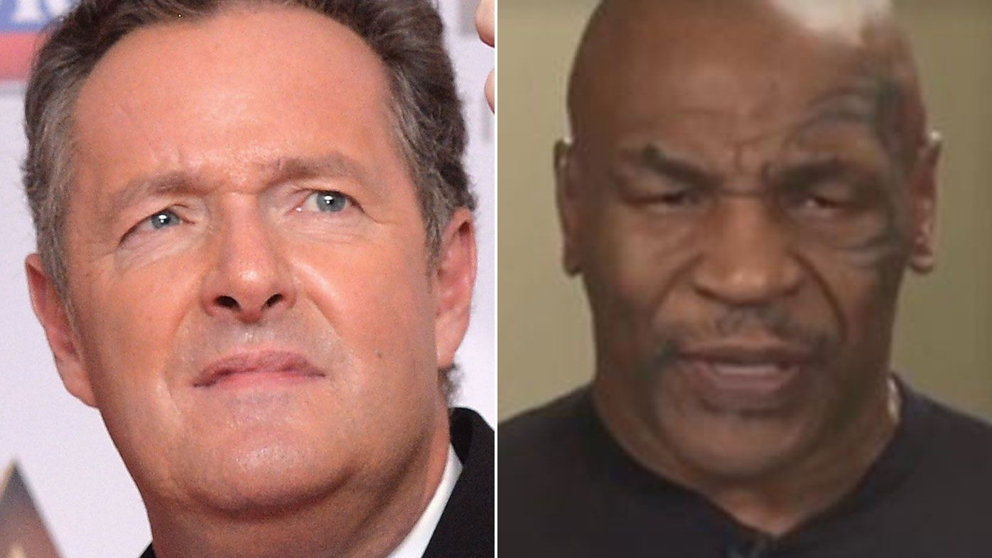 Mike Tyson's bizarre, slurring interview with Piers Morgan on Good Morning Britain