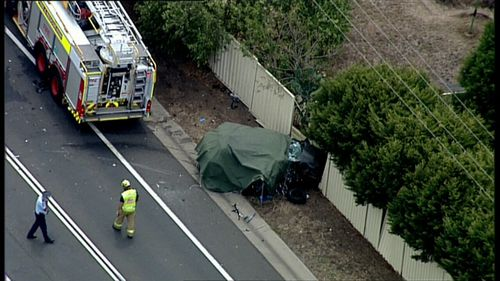 Three people have died after the crash. (9NEWS)