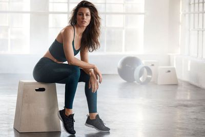 "Actress Jessica Biel has teamed up with wellness brand<a href=""http://https://www.gaiam.com/blogs/discover/introducing-jessica-biel-as-our-new-gaiam-ambassador"" target=""_blank"" title="" Gaiam""> Gaiam</a> for a activewear collaboration"