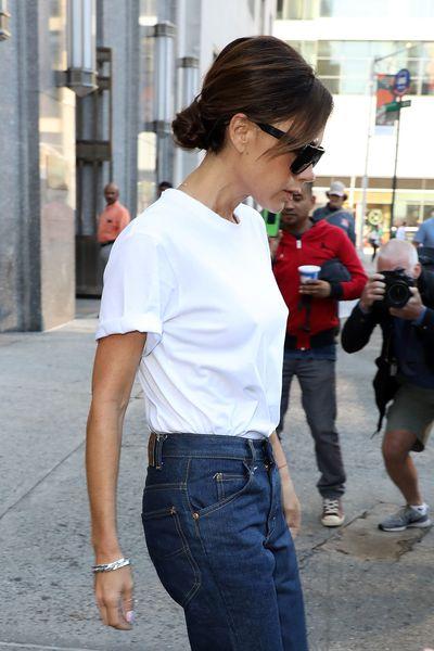 <p>Victoria Beckham's Career-girl Chignon</p> <p></p>