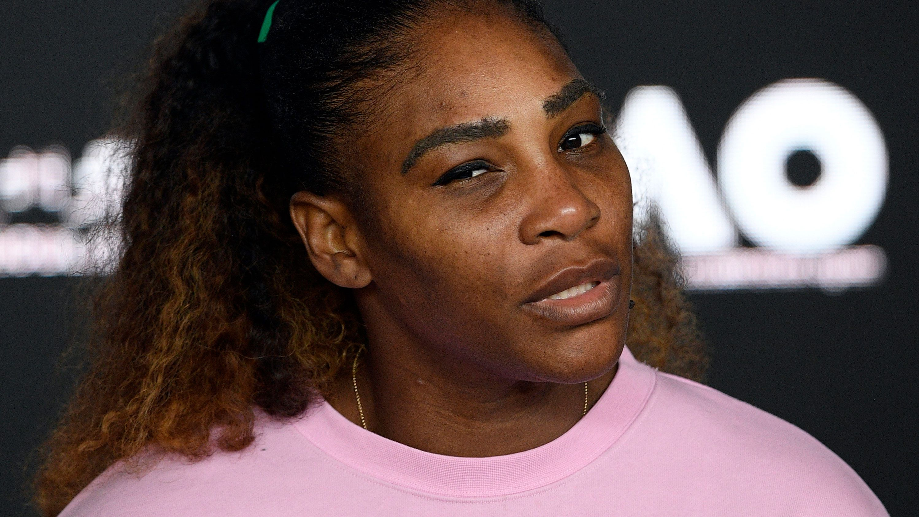 Serena Williams reacts to shock Australian Open loss in press conference