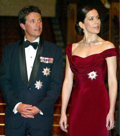Crown Princess Mary's wedding tiara