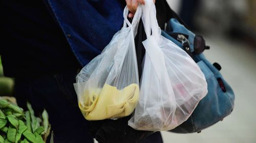 The plastic bag is nearly extinct in Australia. Picture: AAP