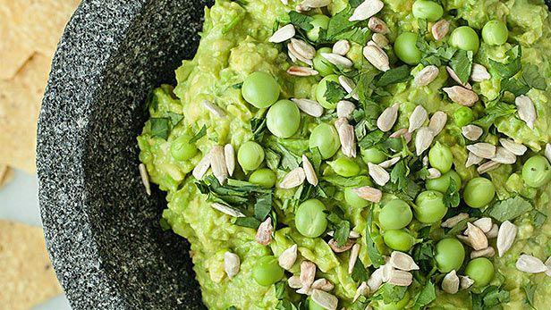 Green pea guacamole (ABC Cocina)