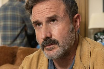 """David Arquette (Dewey Riley) stars in Paramount Pictures and Spyglass Media Group's """"Scream."""""""