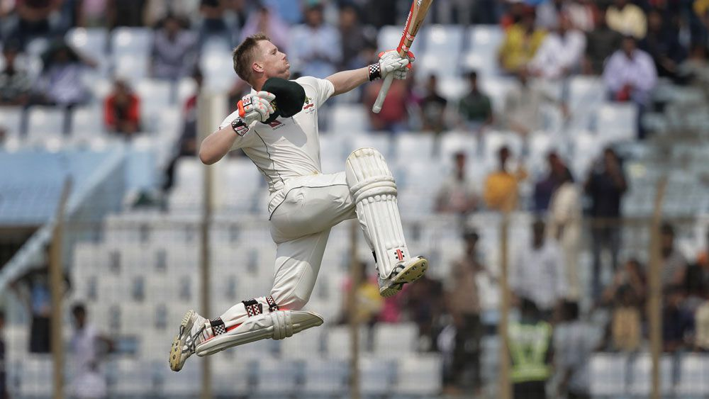 Australia v Bangladesh: Ironman David Warner shows the way for tourists with another century