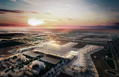 Istanbul New Airport by Scott Brownrigg and Grimshaw, Nordic, Haptic, Fonksiyon, TAM/Kiklop, Istanbul.
