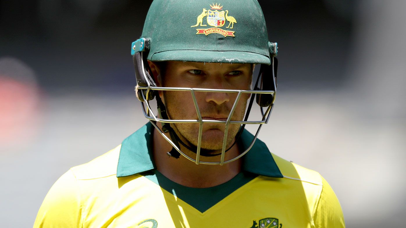 Aaron Finch could find himself leading the Australian side to India in January.